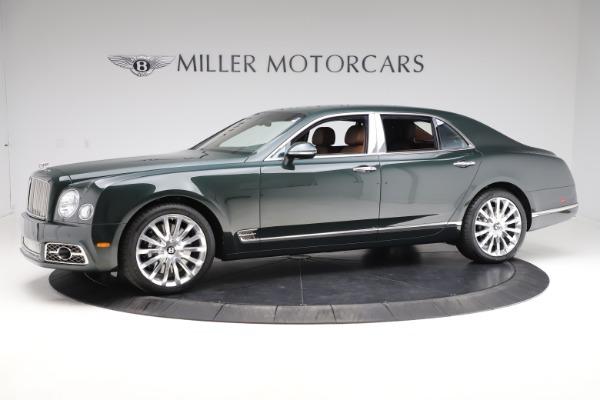New 2020 Bentley Mulsanne V8 for sale $381,665 at McLaren Greenwich in Greenwich CT 06830 2