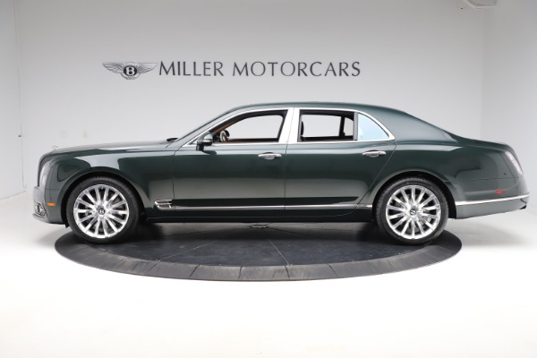 New 2020 Bentley Mulsanne V8 for sale $381,665 at McLaren Greenwich in Greenwich CT 06830 3