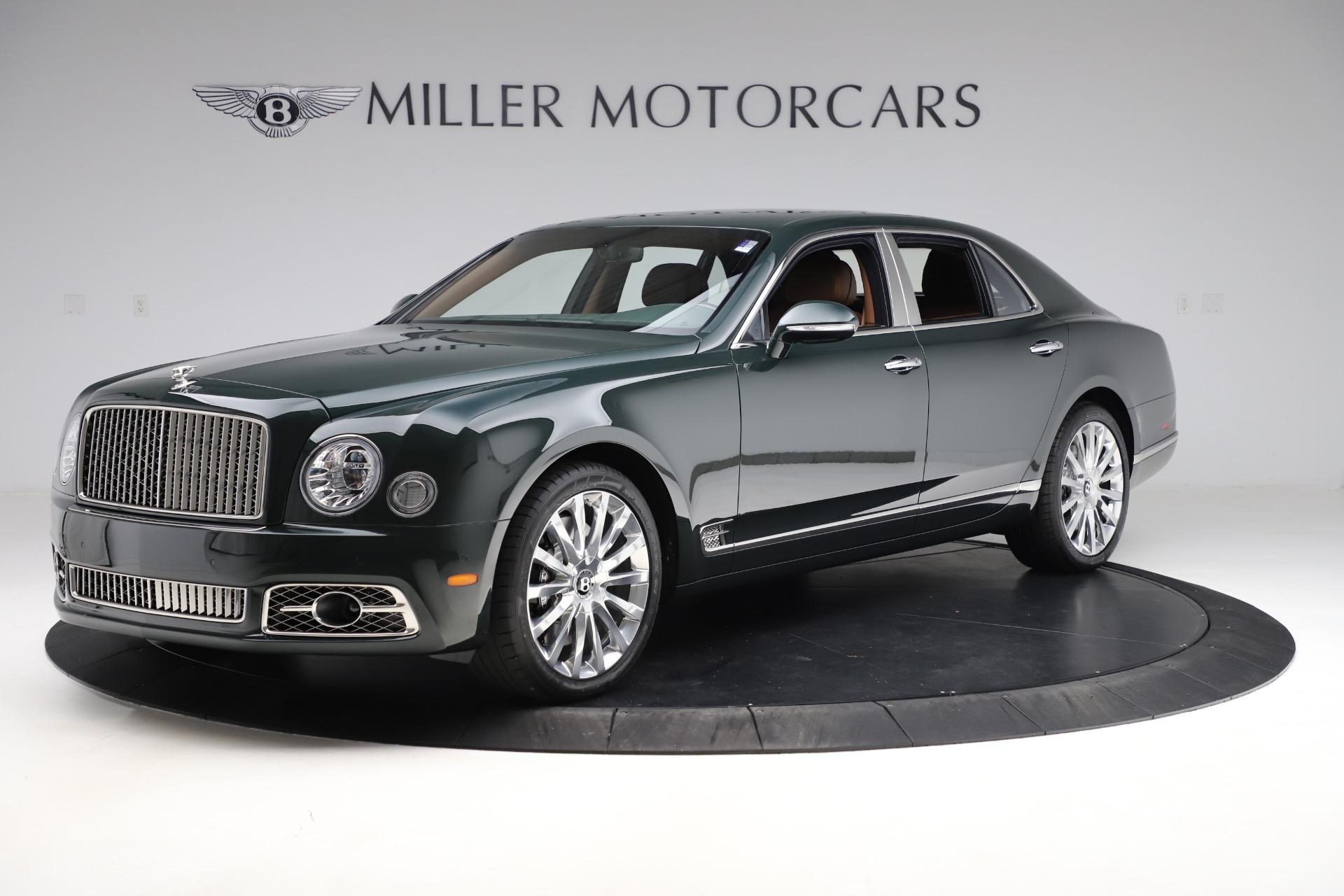 New 2020 Bentley Mulsanne V8 for sale $381,665 at McLaren Greenwich in Greenwich CT 06830 1