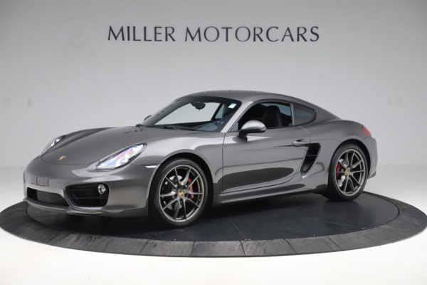 Used 2015 Porsche Cayman S for sale Sold at McLaren Greenwich in Greenwich CT 06830 2