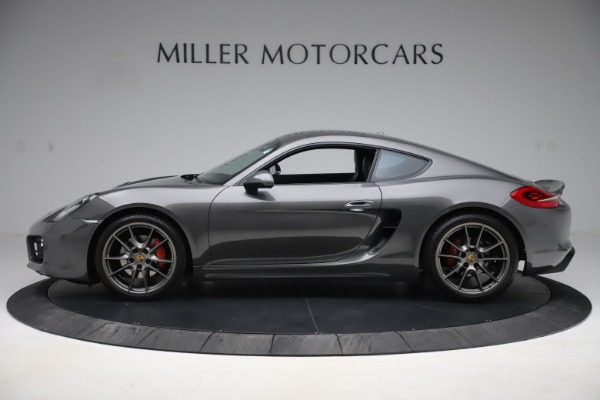 Used 2015 Porsche Cayman S for sale Sold at McLaren Greenwich in Greenwich CT 06830 3