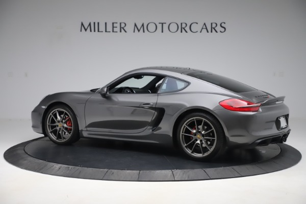 Used 2015 Porsche Cayman S for sale Sold at McLaren Greenwich in Greenwich CT 06830 4