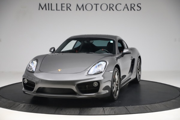 Used 2015 Porsche Cayman S for sale Sold at McLaren Greenwich in Greenwich CT 06830 1