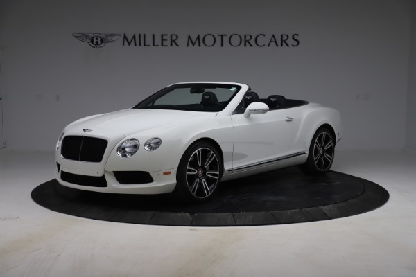 Used 2015 Bentley Continental GTC V8 for sale $119,900 at McLaren Greenwich in Greenwich CT 06830 2