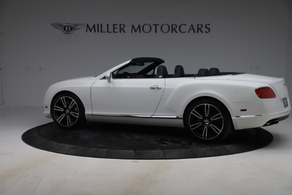 Used 2015 Bentley Continental GTC V8 for sale $119,900 at McLaren Greenwich in Greenwich CT 06830 4