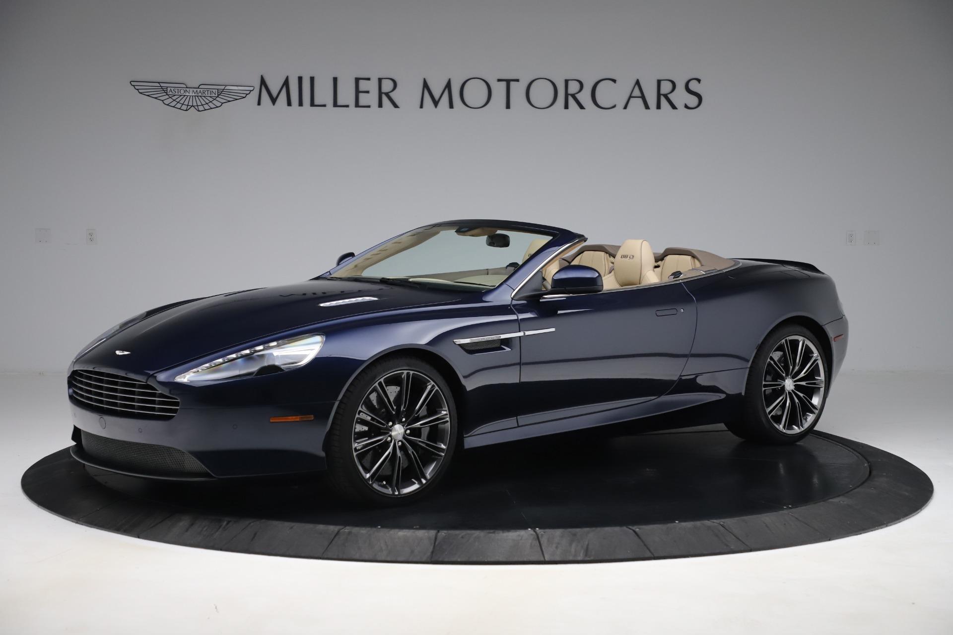 Pre Owned 2014 Aston Martin Db9 Volante For Sale 89 900 Mclaren Greenwich Stock 7701