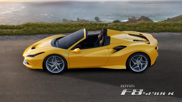 New 2020 Ferrari F8 Spider for sale Call for price at McLaren Greenwich in Greenwich CT 06830 2