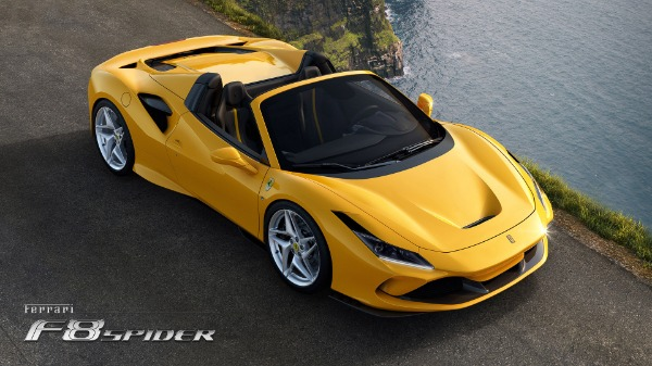 New 2020 Ferrari F8 Spider for sale Call for price at McLaren Greenwich in Greenwich CT 06830 3