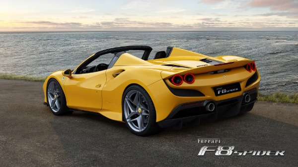 New 2020 Ferrari F8 Spider for sale Call for price at McLaren Greenwich in Greenwich CT 06830 4