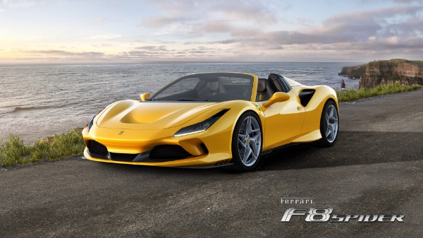 New 2021 Ferrari F8 Spider for sale Call for price at McLaren Greenwich in Greenwich CT 06830 1