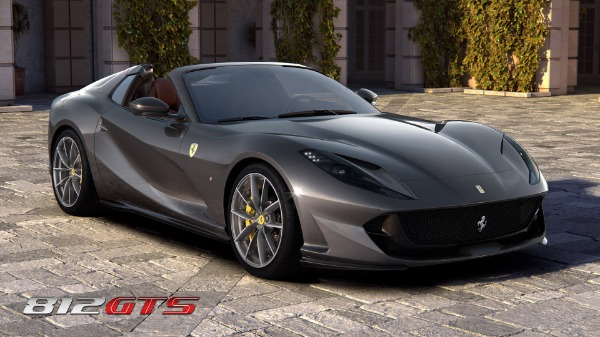 New 2020 Ferrari 812GTS for sale Call for price at McLaren Greenwich in Greenwich CT 06830 2