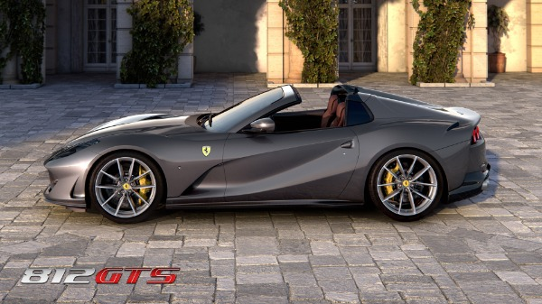 New 2020 Ferrari 812GTS for sale Call for price at McLaren Greenwich in Greenwich CT 06830 3