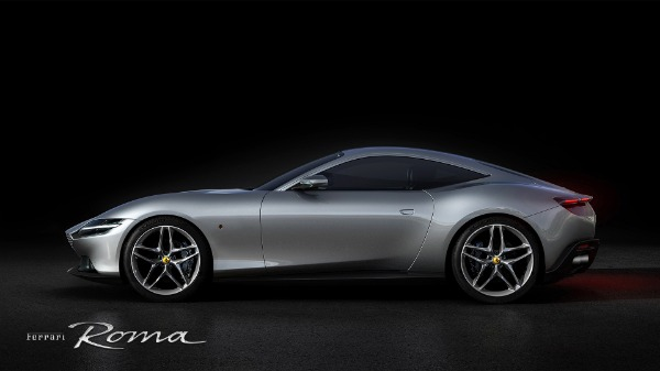 New 2021 Ferrari Roma for sale Call for price at McLaren Greenwich in Greenwich CT 06830 2