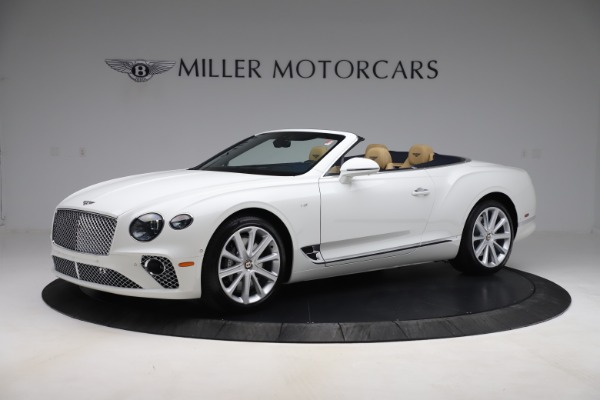 New 2020 Bentley Continental GTC V8 for sale $262,475 at McLaren Greenwich in Greenwich CT 06830 2