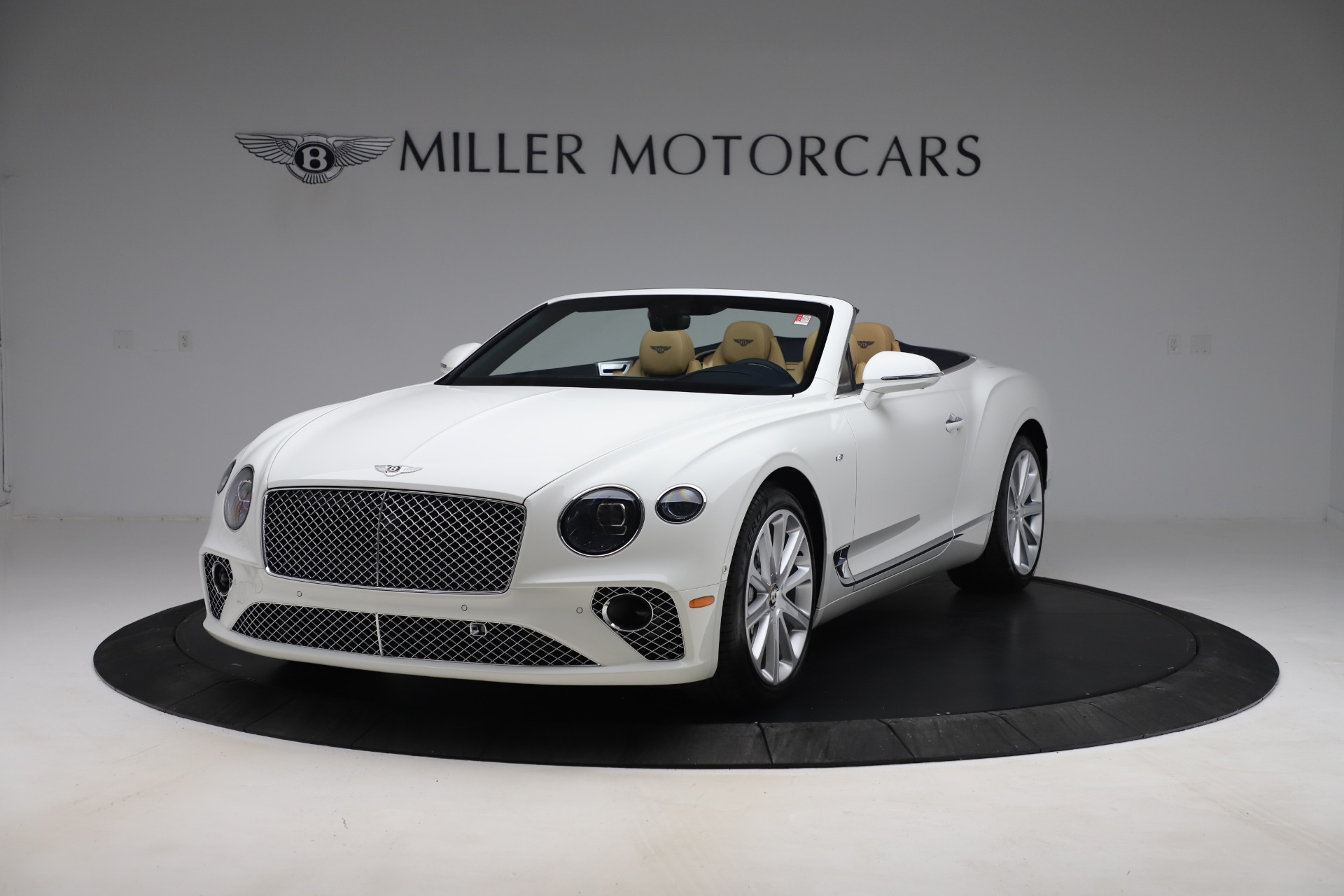 New 2020 Bentley Continental GTC V8 for sale $262,475 at McLaren Greenwich in Greenwich CT 06830 1