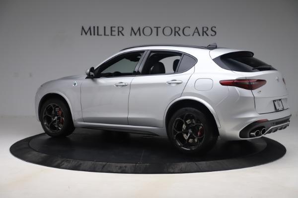 Used 2019 Alfa Romeo Stelvio Quadrifoglio for sale $68,900 at McLaren Greenwich in Greenwich CT 06830 4
