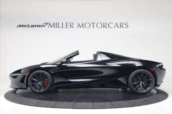 New 2020 McLaren 720S Spider Convertible for sale $383,090 at McLaren Greenwich in Greenwich CT 06830 2