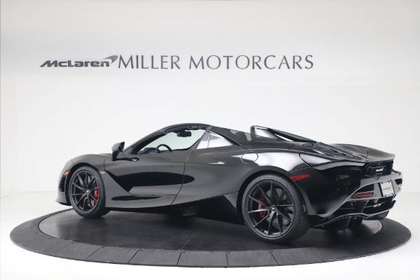 New 2020 McLaren 720S Spider Convertible for sale $383,090 at McLaren Greenwich in Greenwich CT 06830 3