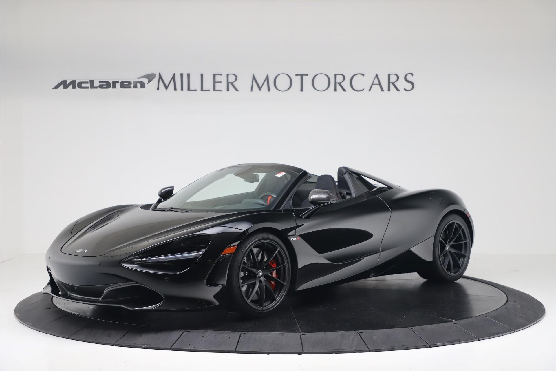 New 2020 McLaren 720S Spider Convertible for sale $383,090 at McLaren Greenwich in Greenwich CT 06830 1