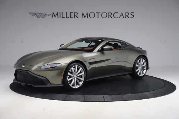 New 2020 Aston Martin Vantage Coupe for sale $180,450 at McLaren Greenwich in Greenwich CT 06830 1