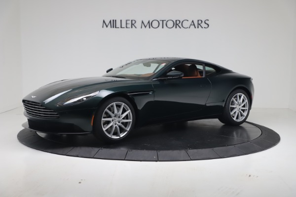 New 2020 Aston Martin DB11 V8 Coupe for sale Sold at McLaren Greenwich in Greenwich CT 06830 1