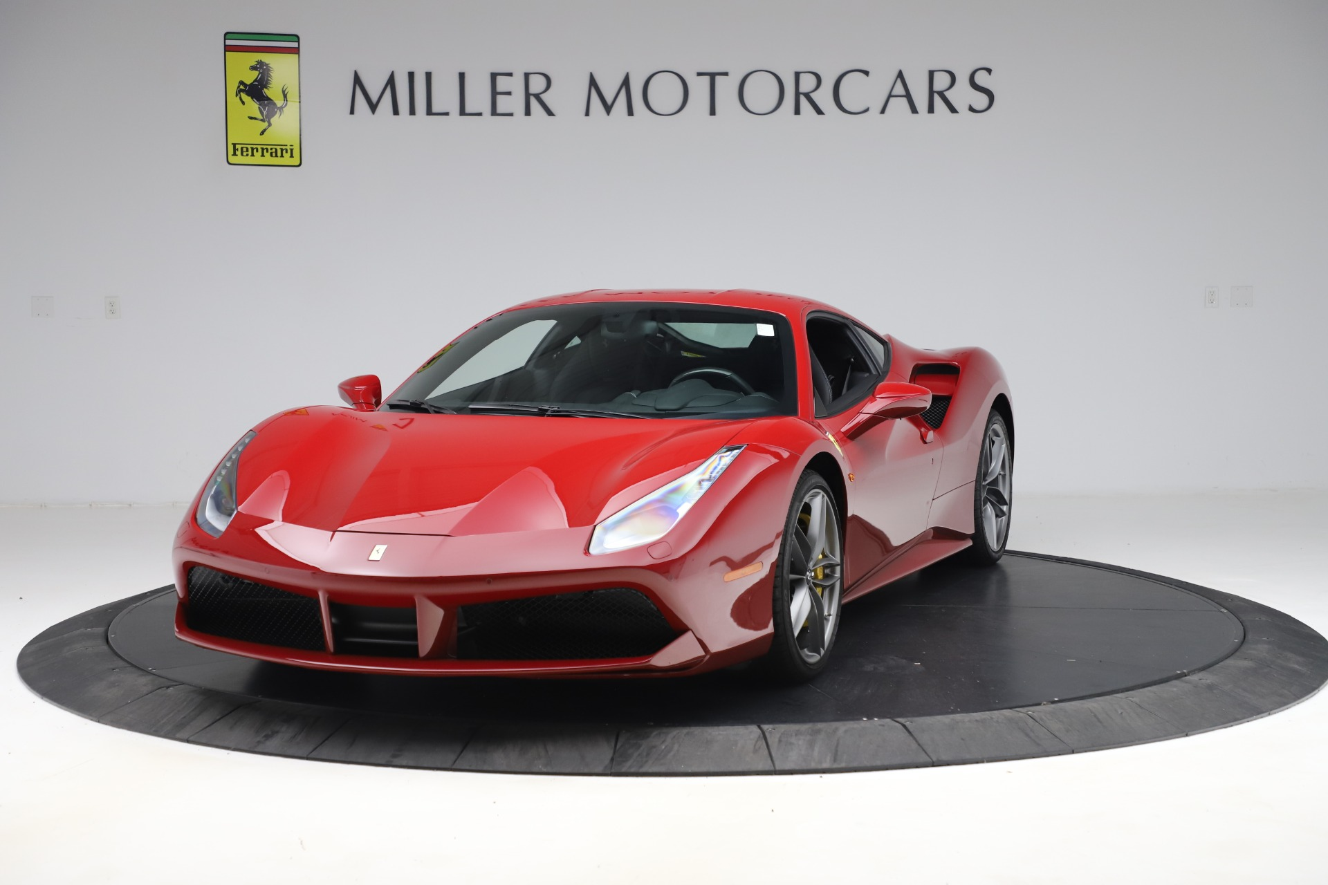 Used 2019 Ferrari 488 GTB for sale Sold at McLaren Greenwich in Greenwich CT 06830 1