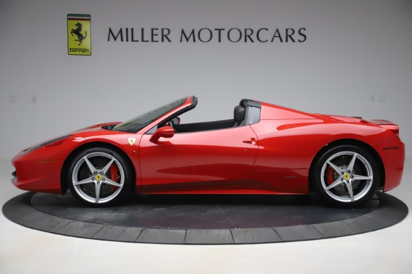 Used 2015 Ferrari 458 Spider for sale $235,900 at McLaren Greenwich in Greenwich CT 06830 3