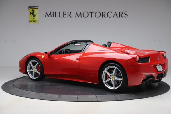 Used 2015 Ferrari 458 Spider for sale $235,900 at McLaren Greenwich in Greenwich CT 06830 4