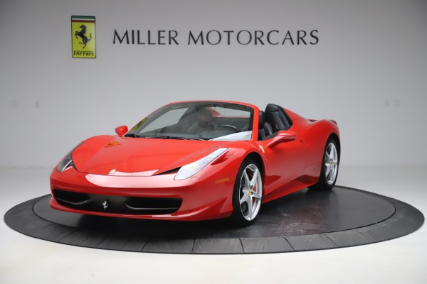 Used 2015 Ferrari 458 Spider for sale $235,900 at McLaren Greenwich in Greenwich CT 06830 1
