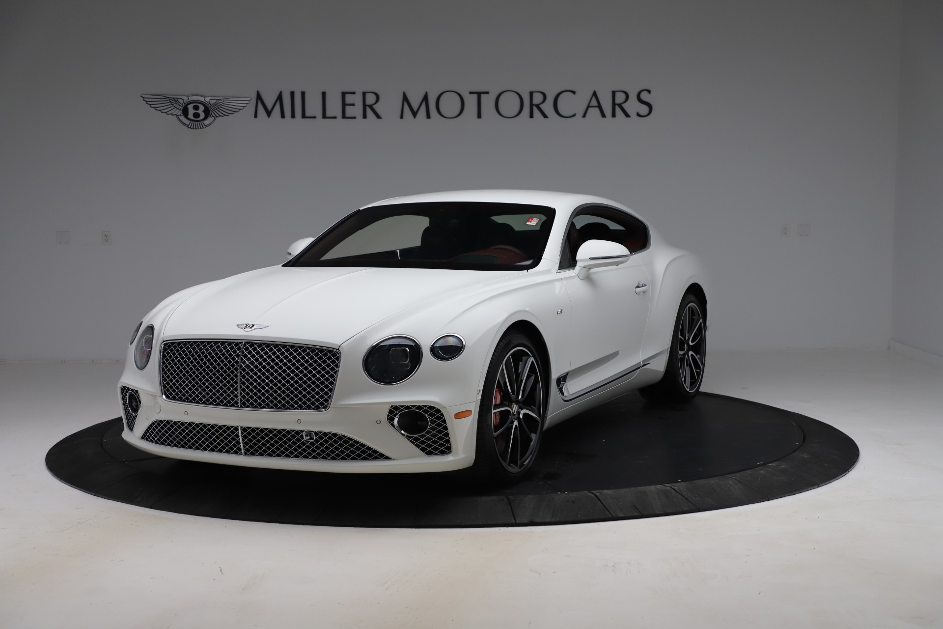 New 2020 Bentley Continental GT V8 for sale $261,360 at McLaren Greenwich in Greenwich CT 06830 1