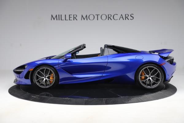 New 2020 McLaren 720S Spider Convertible for sale $364,090 at McLaren Greenwich in Greenwich CT 06830 2