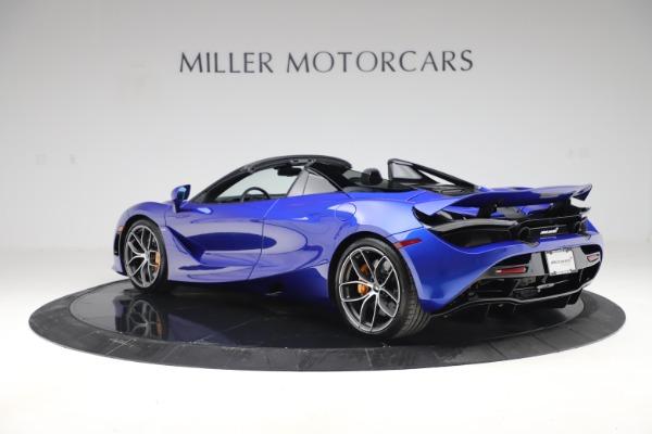 New 2020 McLaren 720S Spider Convertible for sale $364,090 at McLaren Greenwich in Greenwich CT 06830 3