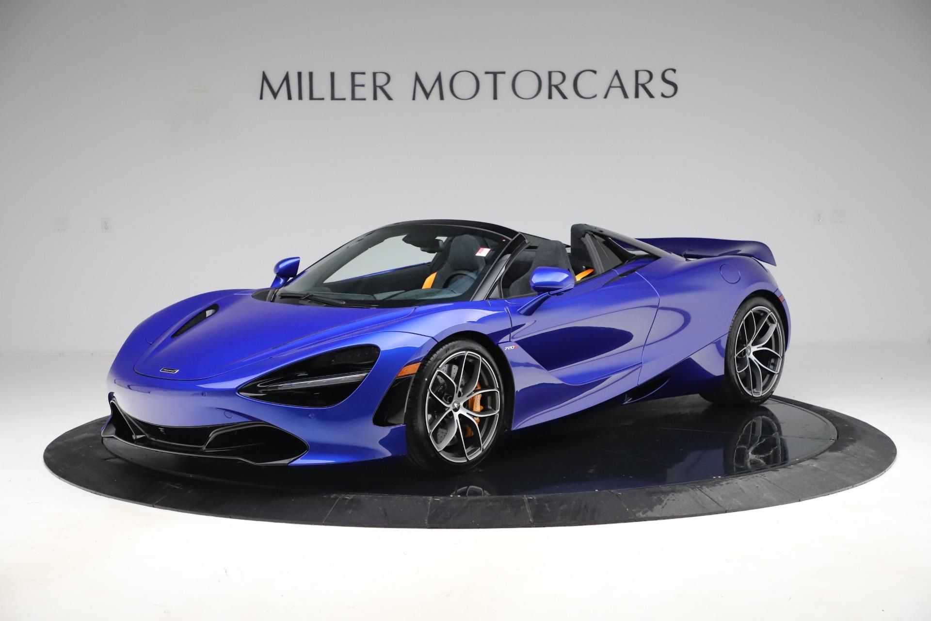 New 2020 McLaren 720S Spider Convertible for sale $364,090 at McLaren Greenwich in Greenwich CT 06830 1