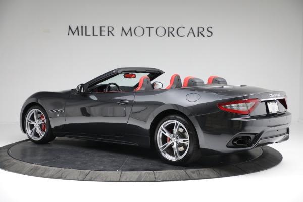 New 2019 Maserati GranTurismo Sport Convertible for sale Sold at McLaren Greenwich in Greenwich CT 06830 4