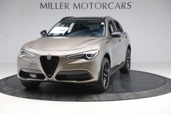 New 2019 Alfa Romeo Stelvio Q4 for sale Sold at McLaren Greenwich in Greenwich CT 06830 1