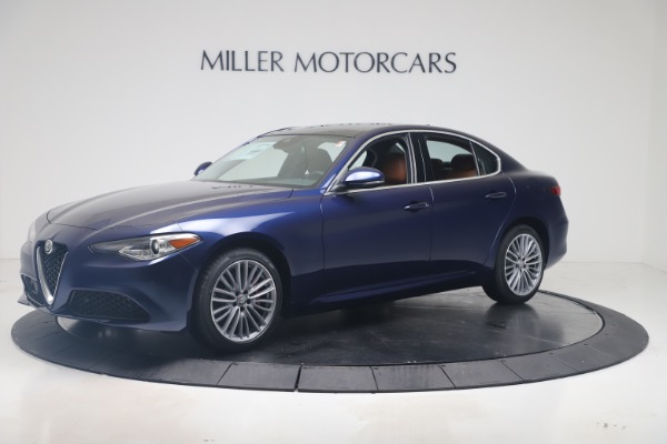 New 2019 Alfa Romeo Giulia Ti Lusso Q4 for sale Sold at McLaren Greenwich in Greenwich CT 06830 2
