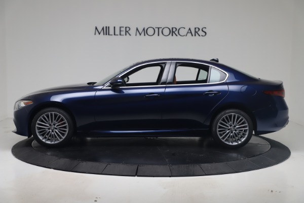 New 2019 Alfa Romeo Giulia Ti Lusso Q4 for sale Sold at McLaren Greenwich in Greenwich CT 06830 3