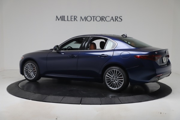New 2019 Alfa Romeo Giulia Ti Lusso Q4 for sale Sold at McLaren Greenwich in Greenwich CT 06830 4