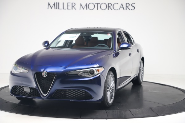 New 2019 Alfa Romeo Giulia Ti Lusso Q4 for sale Sold at McLaren Greenwich in Greenwich CT 06830 1