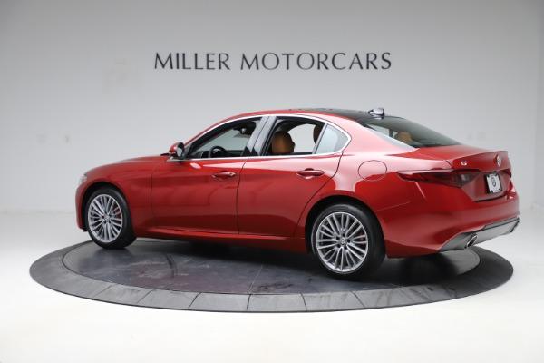 New 2019 Alfa Romeo Giulia Ti Lusso Q4 for sale $54,790 at McLaren Greenwich in Greenwich CT 06830 4