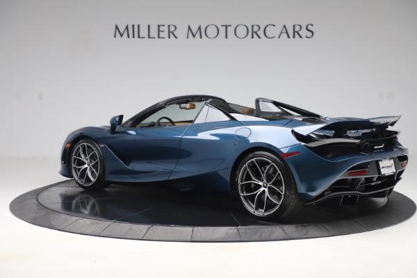 New 2020 McLaren 720S Spider Luxury for sale $380,835 at McLaren Greenwich in Greenwich CT 06830 3