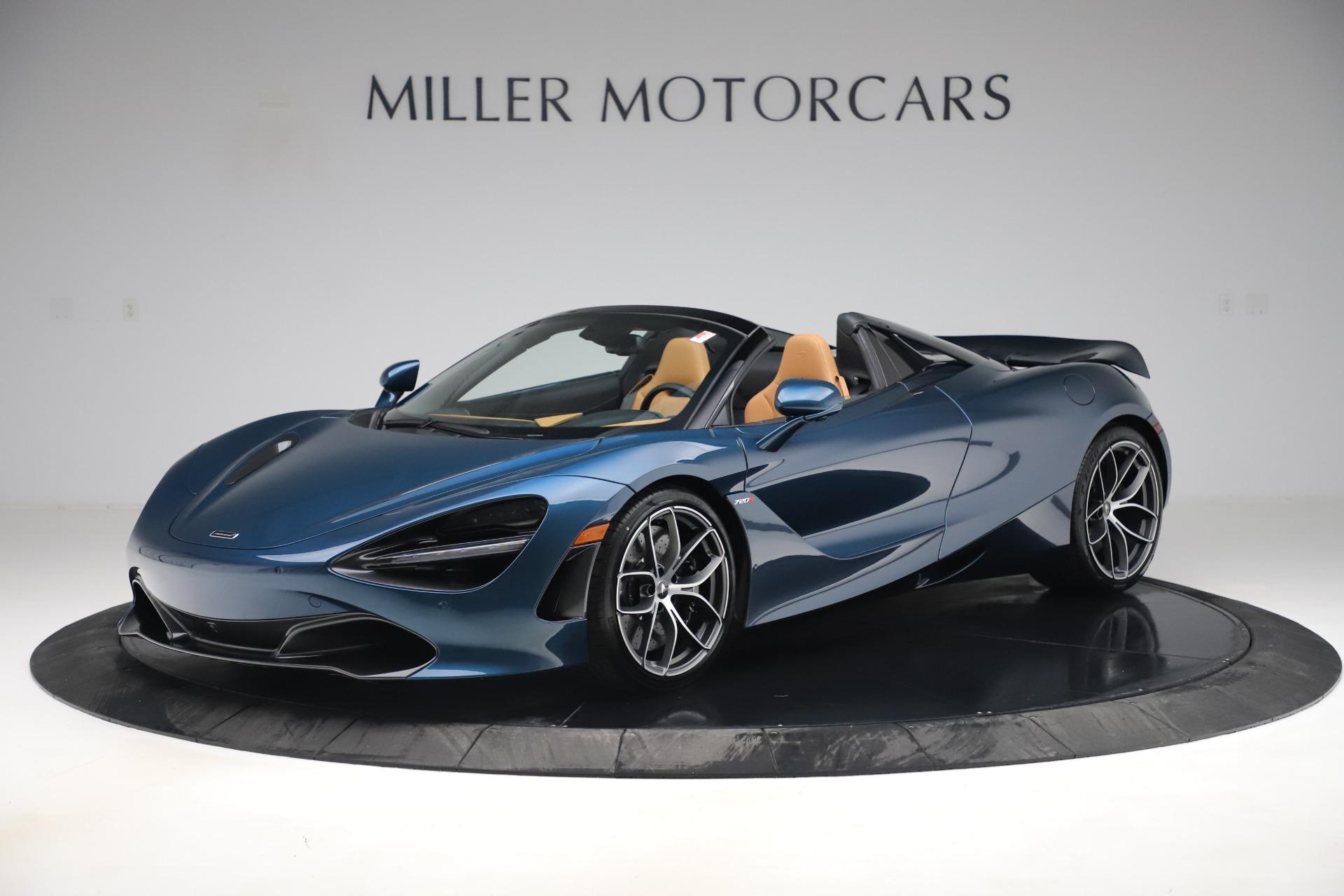 New 2020 McLaren 720S Spider Luxury for sale $380,835 at McLaren Greenwich in Greenwich CT 06830 1