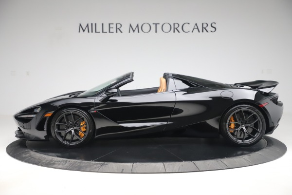 New 2020 McLaren 720S Spider Convertible for sale $372,060 at McLaren Greenwich in Greenwich CT 06830 2