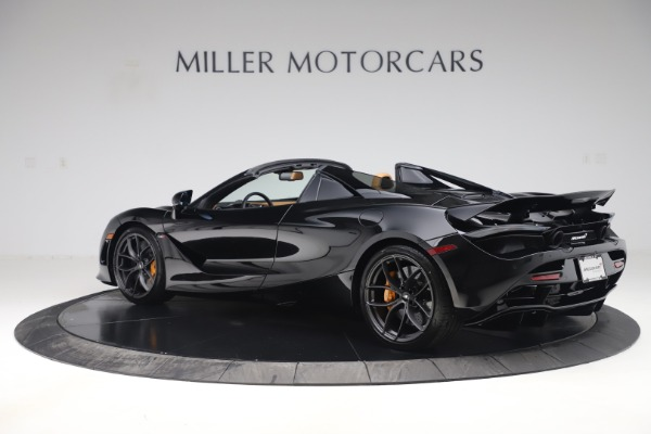 New 2020 McLaren 720S Spider Convertible for sale $372,060 at McLaren Greenwich in Greenwich CT 06830 3