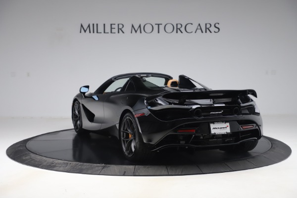 New 2020 McLaren 720S Spider Convertible for sale $372,060 at McLaren Greenwich in Greenwich CT 06830 4