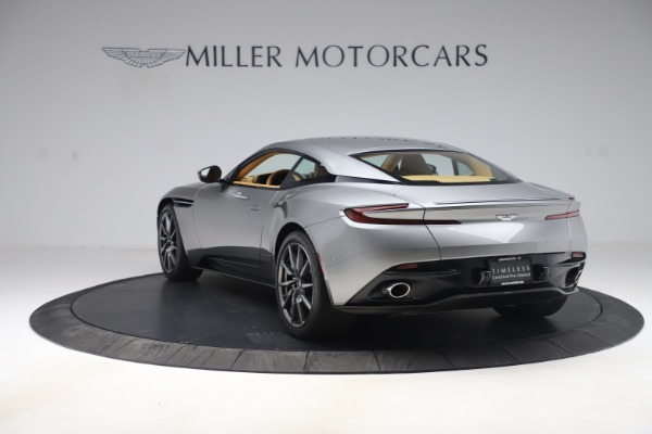 Used 2017 Aston Martin DB11 V12 Coupe for sale $149,990 at McLaren Greenwich in Greenwich CT 06830 4