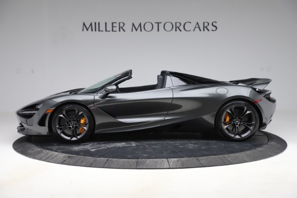 New 2020 McLaren 720S Spider Convertible for sale $332,570 at McLaren Greenwich in Greenwich CT 06830 2