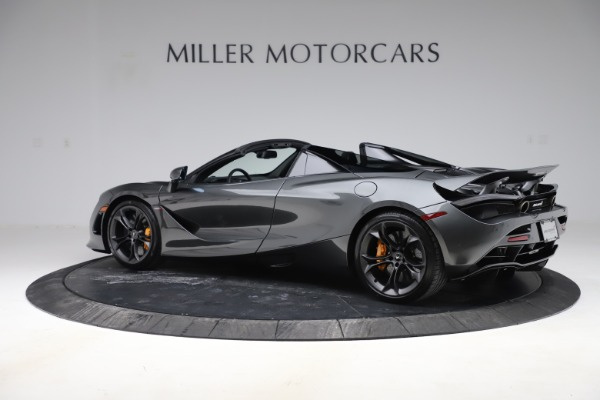 New 2020 McLaren 720S Spider Convertible for sale $332,570 at McLaren Greenwich in Greenwich CT 06830 3