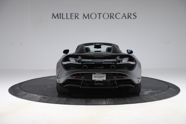 New 2020 McLaren 720S Spider Convertible for sale $332,570 at McLaren Greenwich in Greenwich CT 06830 4