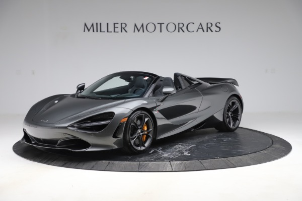 New 2020 McLaren 720S Spider Convertible for sale $332,570 at McLaren Greenwich in Greenwich CT 06830 1
